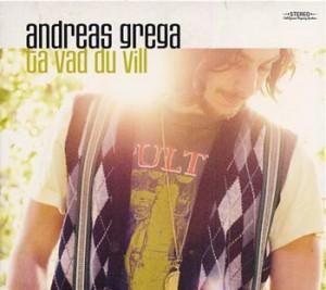 """Andreas Grega """"Ta vad du vill"""" (4-spårs EP, Universal)"""