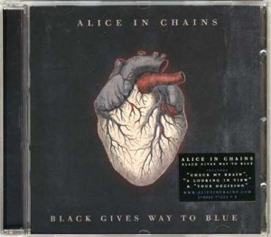 "Alice In Chains ""Black gives way to blue"" (Virgin/EMI)"