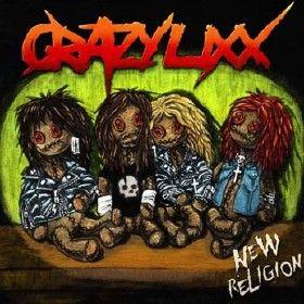 Crazy Lixx New Religion (Frontiers/Triada/Bonnier Amigo)