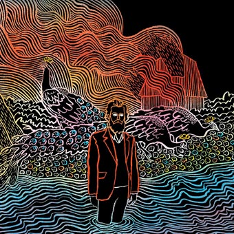 Iron & Wine Kiss each other clean (4ad/Playground)