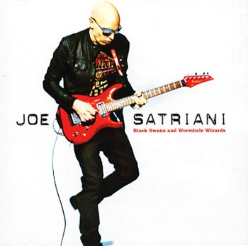 Joe Satriani Black Swans and Wormhole Wizards (Epic/Sony)