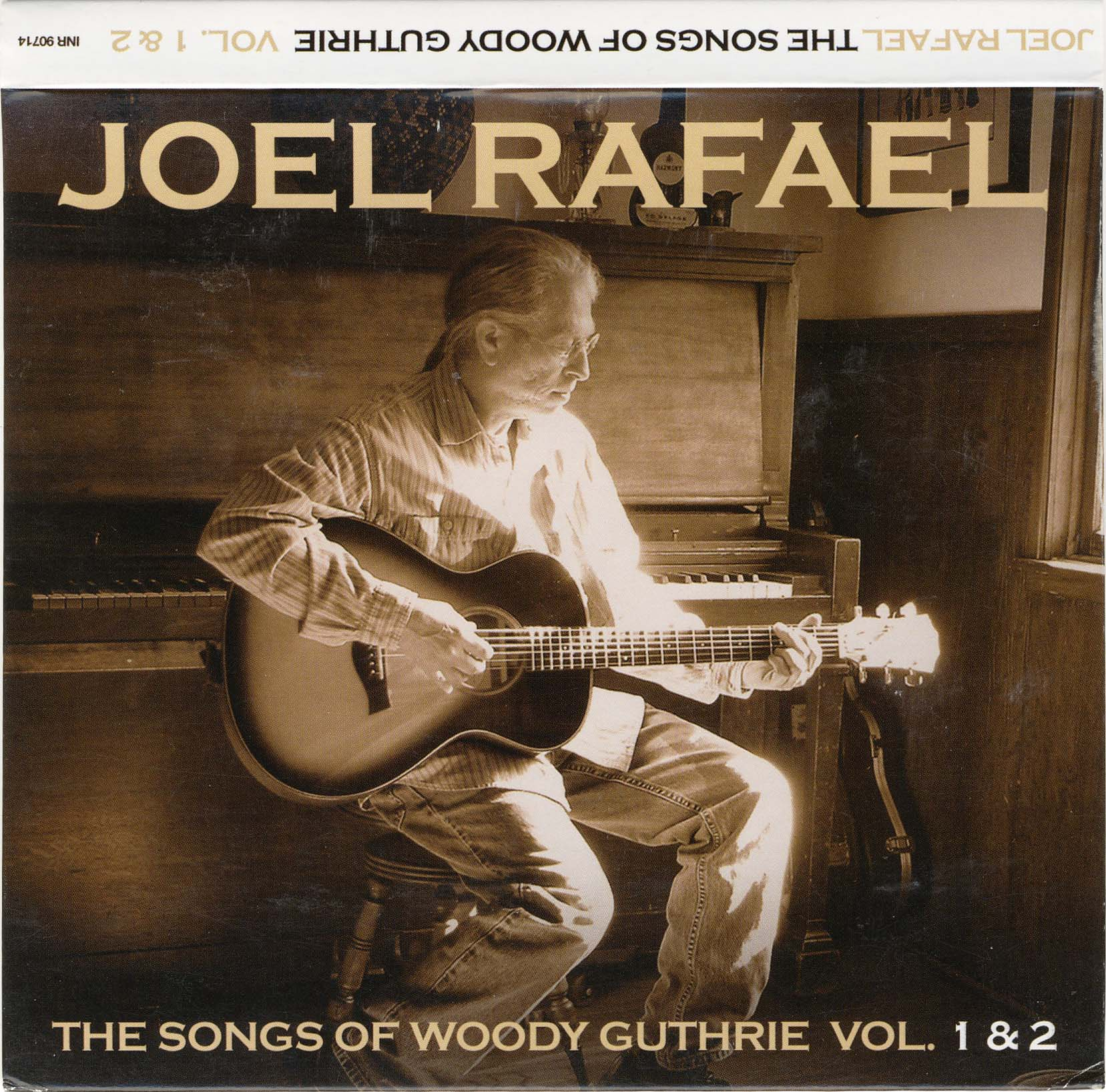 Joel Rafael Songs of Woddy Guthrie Vol 1&2 (Inside Recordings/ADA Nordic/Warner)