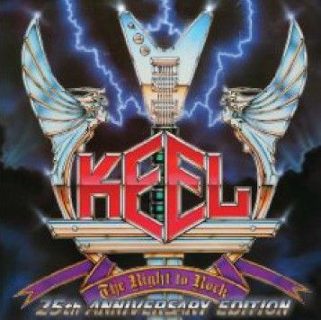 Keel The right to rock - 25th Anniversary Edition (Frontiers/Bonnier Amigo)