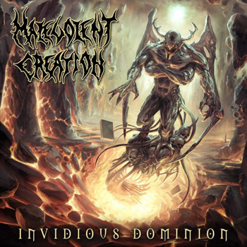 Malevolent Creation Invidious Dominion (Massacre/Sound Pollution)