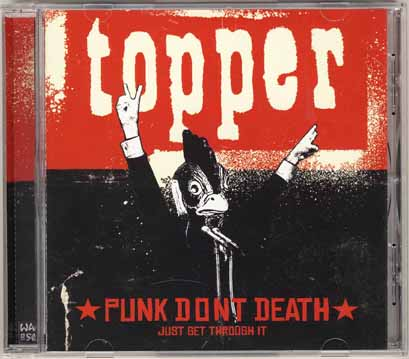 Topper - Punk Dont Death...Just Get Through It (SuperNova/Bonnier Amigo)